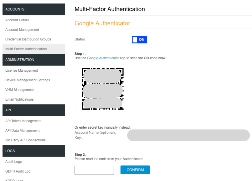 2 Factor Authentication In HiveManager